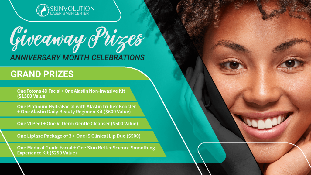 Giveaway Prizes Anniversary Month Celebration